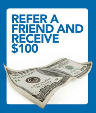 refer a friend and receive $100 for RSP heating and cooling services