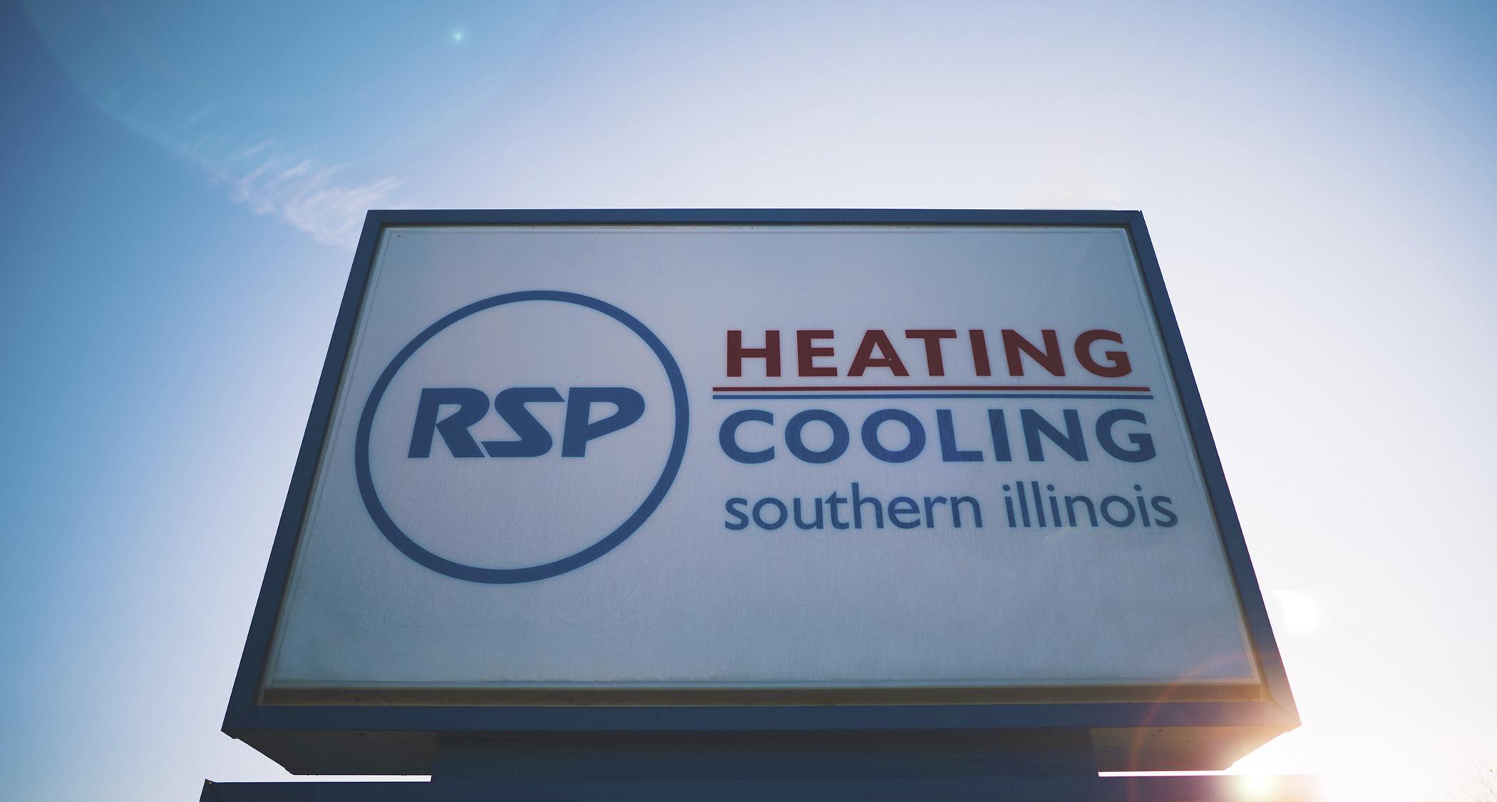 RSP sign - RSP HVAC